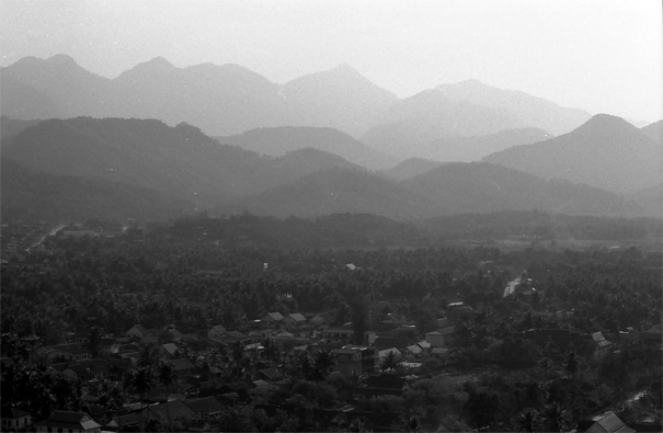 プーシーの丘からの眺め