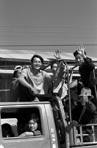 Laborers On The Truck (Laos)