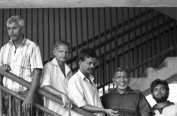 Men Standing At The Saircase @ Sri Lanka