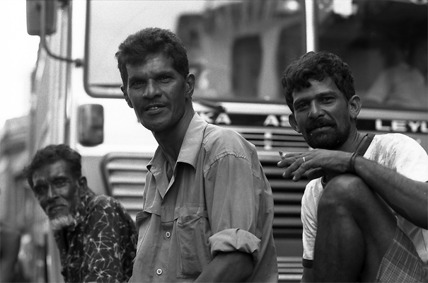 Three Laborers Were Resting @ Sri Lanka