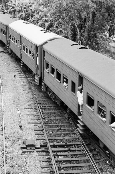 Train Was Coming @ Sri Lanka