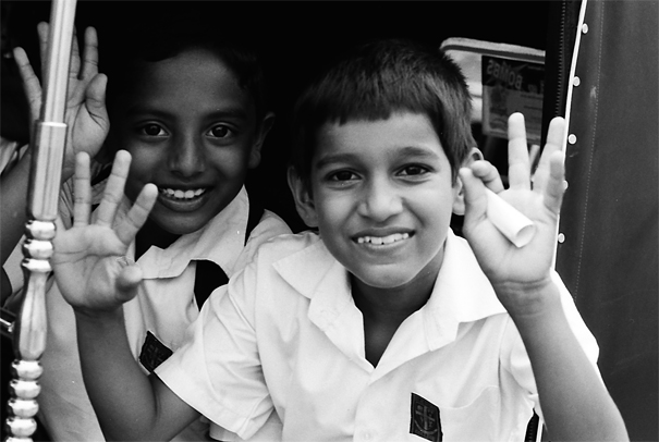 Boys On The Three Wheeler (Sri Lanka)