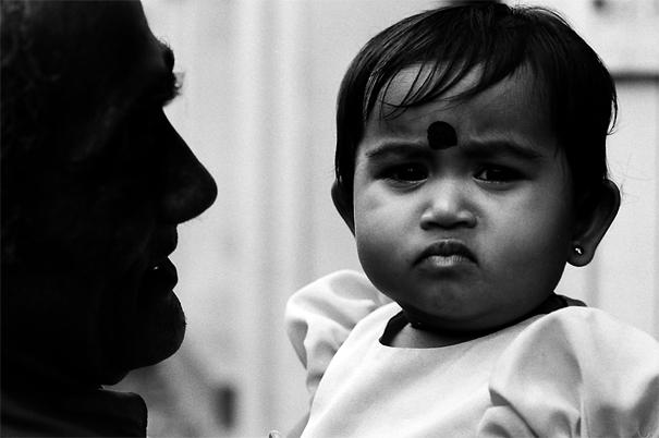 Baby With A Bindi (Sri Lanka)