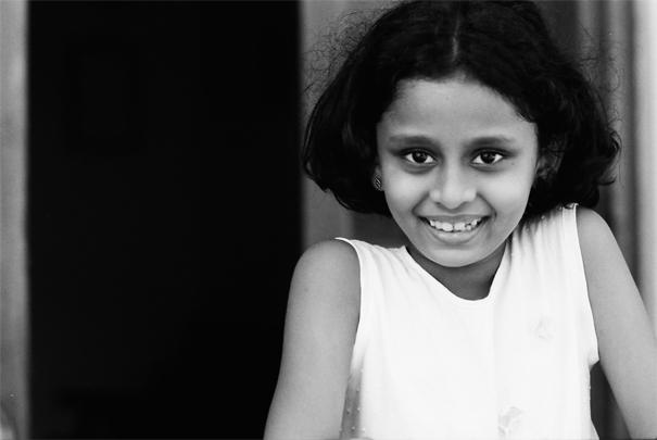 Bashful Girl @ Sri Lanka