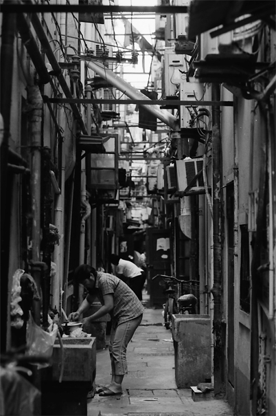 Housework In The Alleyway (China)