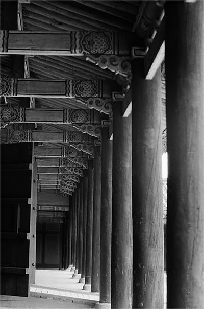 昌慶宮の回廊