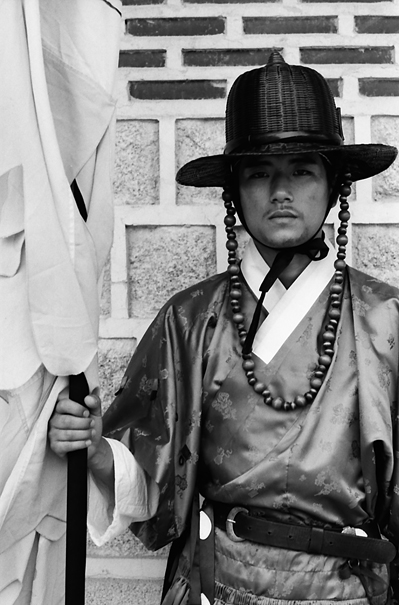 Man In The Old Outfit (South Korea)
