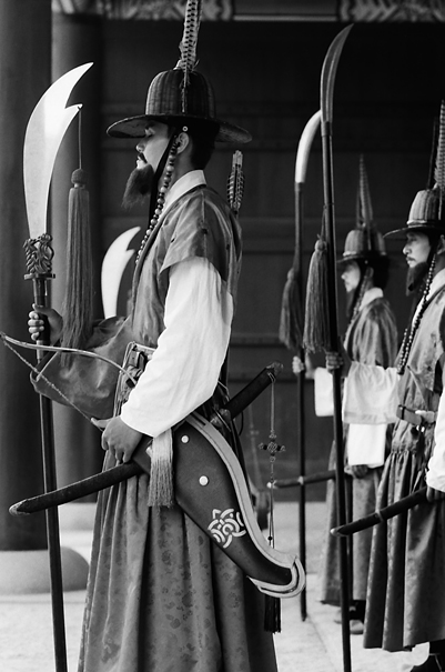 景福宮の王宮警備隊