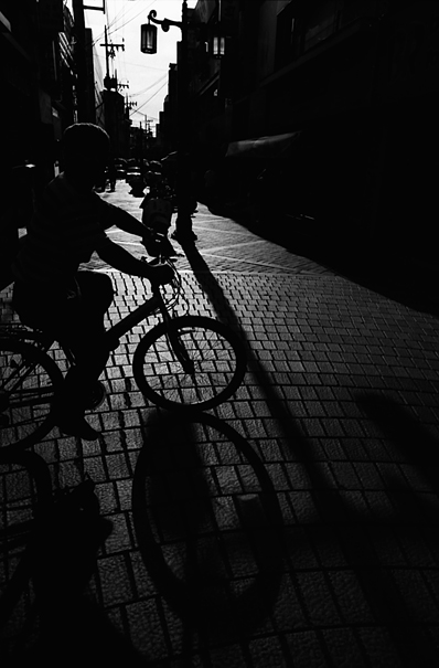 Silhouette Of A Bicycle @ South Korea