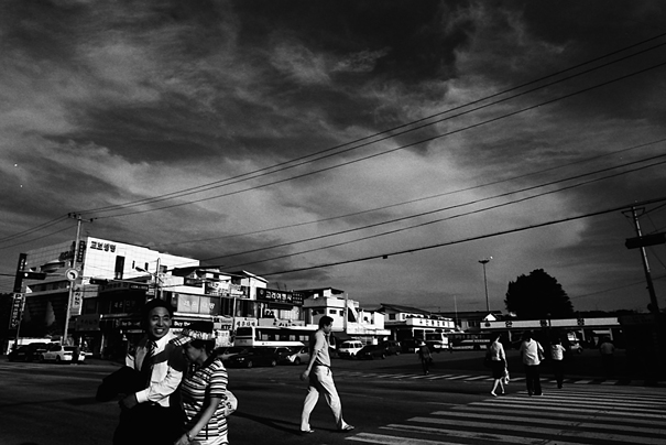 In A Street Of Andong (South Korea)