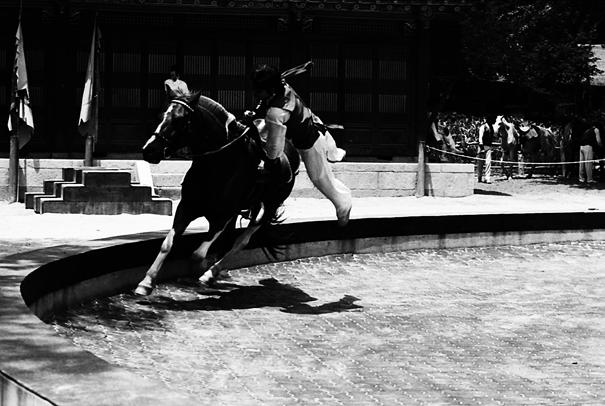 韓国民俗村の曲馬 (韓国)