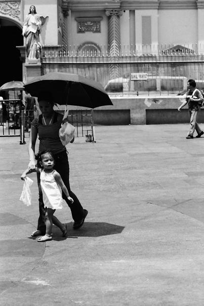 Umbrella In Front Of Quiapo Church (Philippines)