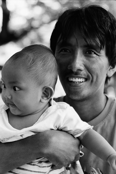 Father And His Baby (Philippines)