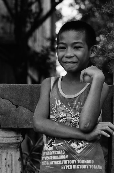 Lad With A Smile On His Lips (Philippines)