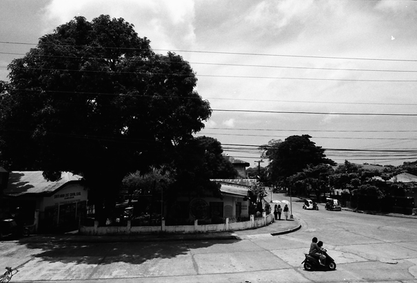Intersection In Santa Maria (Philippines)