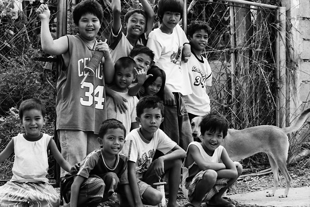 Children And A Dog (Philippines)