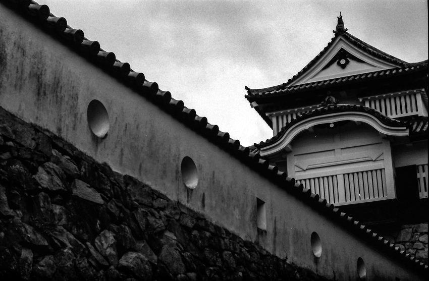 備中松山城の天守