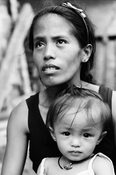 Mother And Daughter @ Philippines