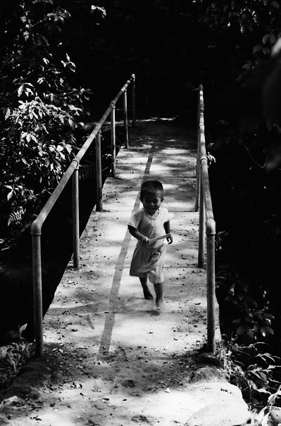 Little Boy On The Bridge @ Philippines