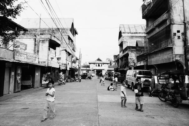 Main Street Of Banaue (Philippines)