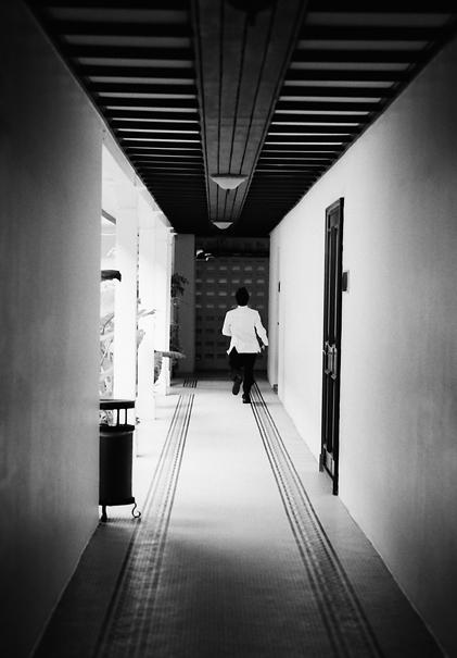 Corridor Of A Hotel @ Malaysia