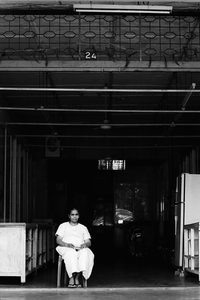 Woman In The Storefront @ Malaysia