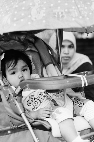 Infant On The Baby Buggy (Malaysia)