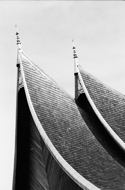 Sharp Roof Of The Royal Palace (Malaysia)
