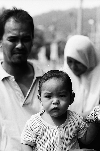 Frowned Baby @ Malaysia