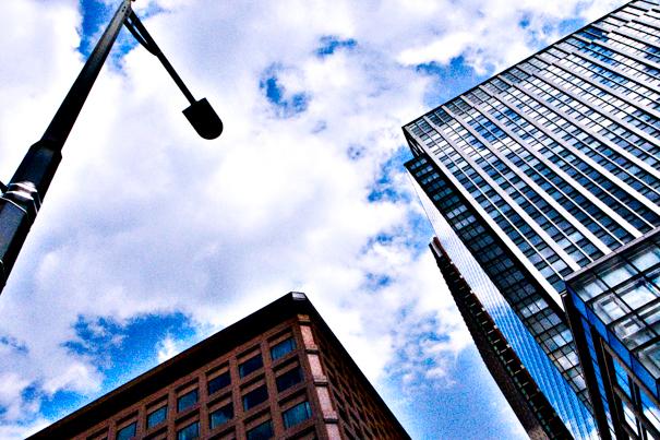Urban Sky In Marunouchi (Tokyo)