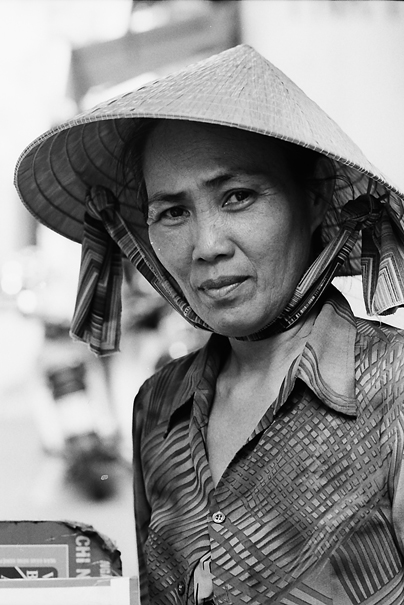 Woman With A Conical Hat (Vietnam)