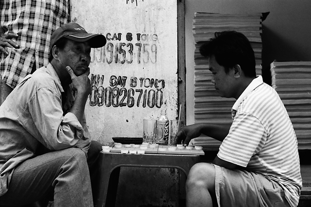 Man Thinking About The Next Move (Vietnam)