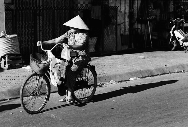 Bicycle Carrying A Conical Hat @ Vietnam