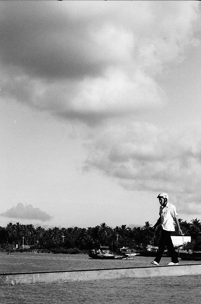 Gangway And Summer Clouds (Vietnam)