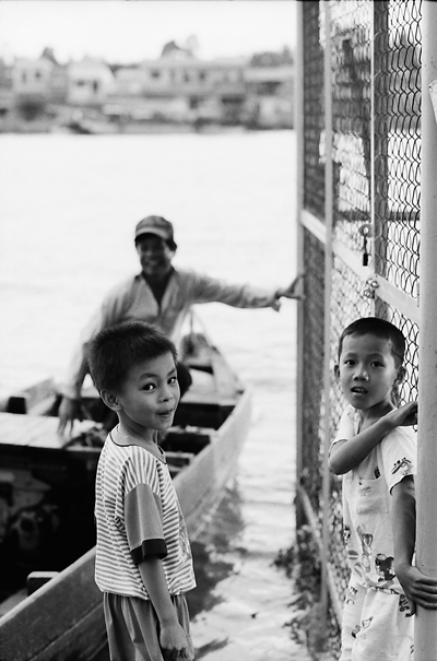 Boys On The Riverside (Vietnam)