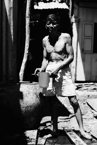 Bathing Man @ Vietnam