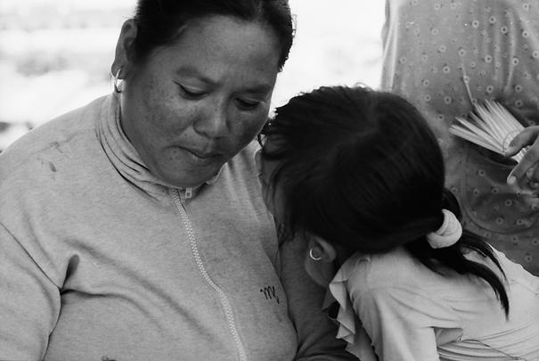 Confidential Talk Between Mother And Daughter (Vietnam)