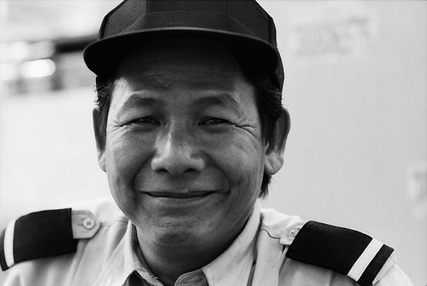 Man Wearing The Uniform With Epaulets @ Vietnam