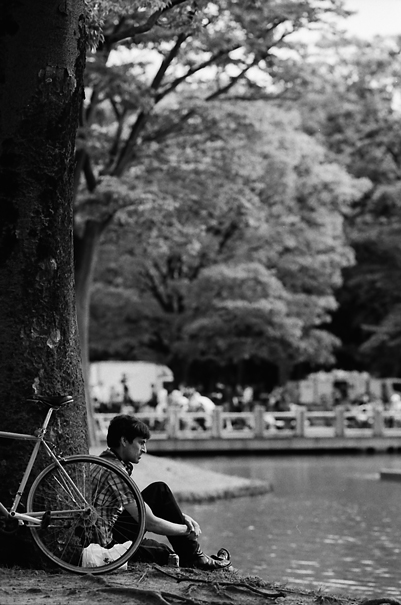 Man At A Pond Nearby (Tokyo)