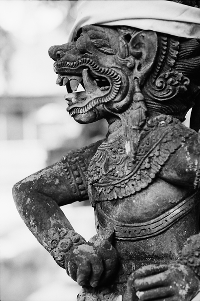 Statue With Fangs (Indonesia)