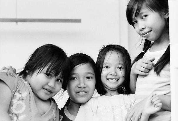 4人の女の子