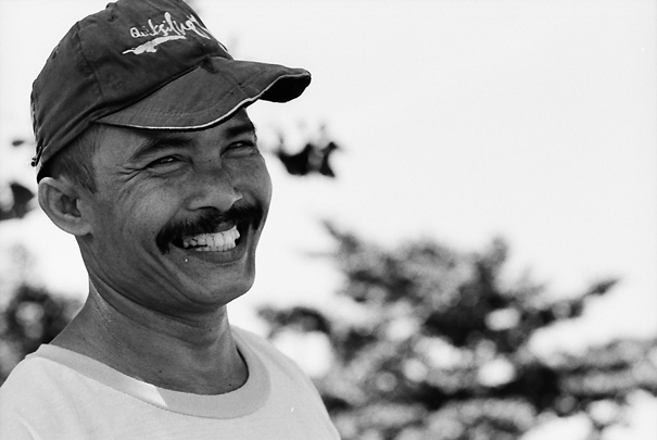 Laughing Man @ Indonesia
