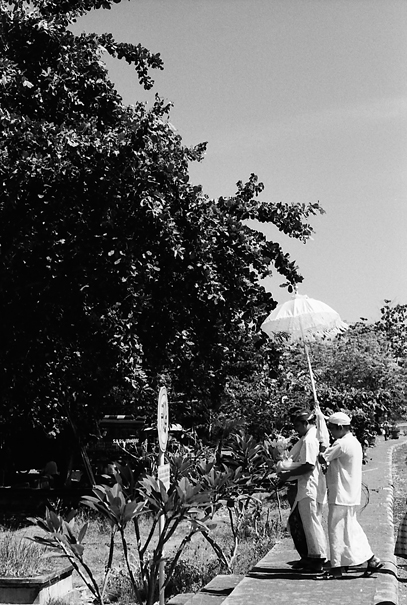 Umbrella Heading Off To The Beach (Indonesia)