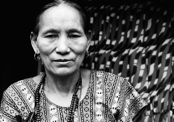 Woman With A Blank Face @ Nepal