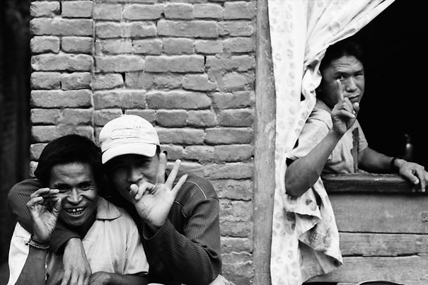 Three Cheerful Men @ Nepal