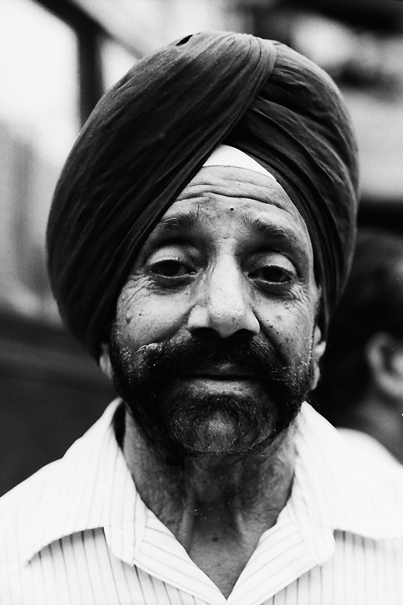 Sikh with turban