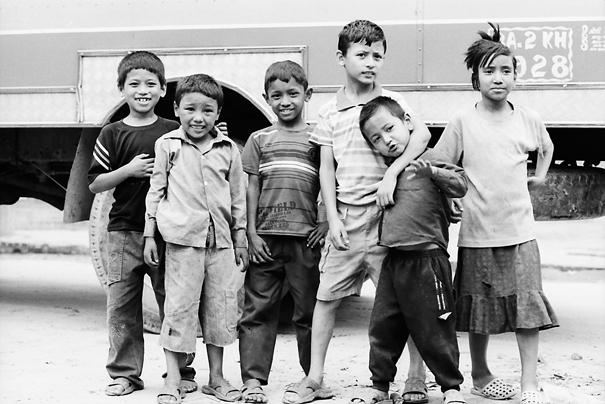 Six Children @ Nepal