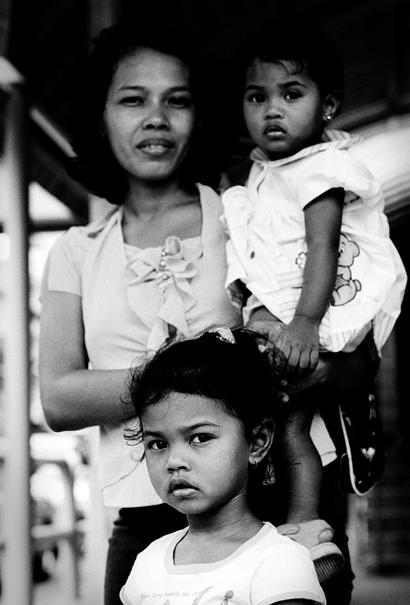 Three Ladies In Kuala Lumpur (Malaysia)