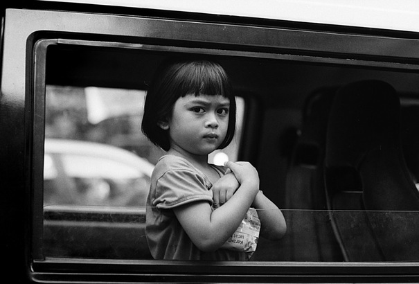 Dubious Face On The Car @ Malaysia