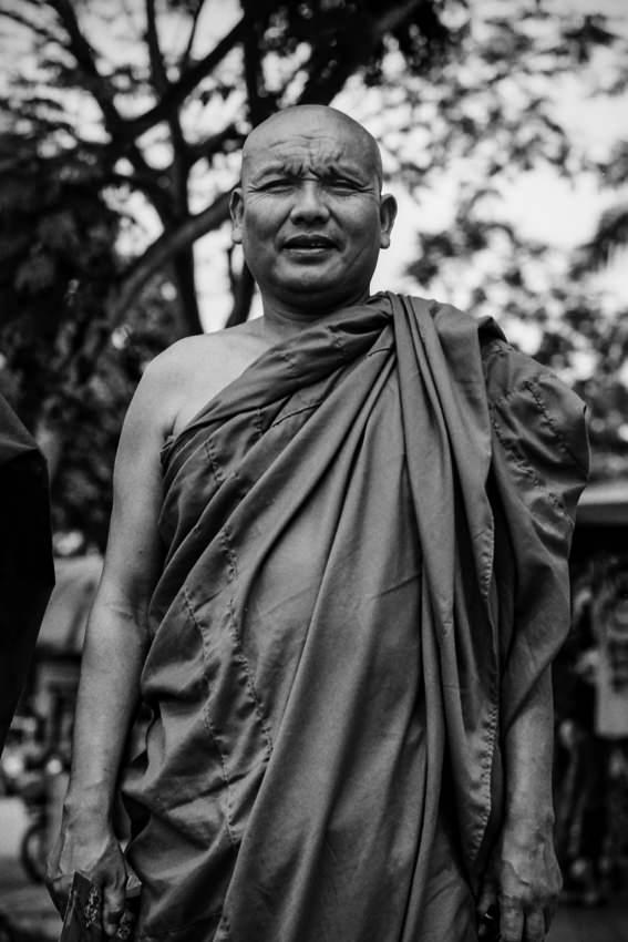 ミャンマーから来た僧侶
